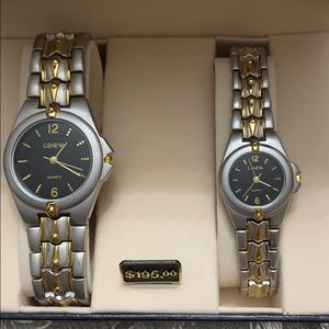 Geneva Watch set Price:$60 or your Best Offer